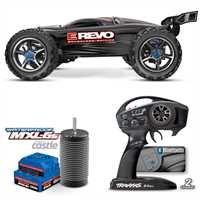 Preisvergleich Produktbild Traxxas E-Revo Elektro Monstertruck RTR 4 WD 1:10 Brushless