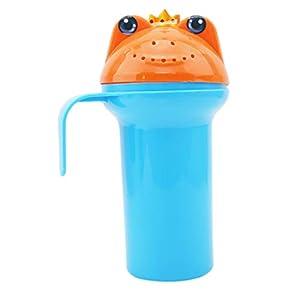 Eleusine Karikatur Baby Dusche Wasser Löffel Baby Baden Flusher Baby Shampoo Tasse Bad Waschen Tassen Waschen Kopf Schwimmende Spielzeug