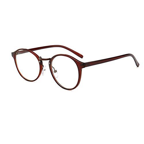 55e473b8e8 Gafas De Lectura para Hombres Y Mujeres, con Un Elegante Y Ligero Marco  Redondo HD