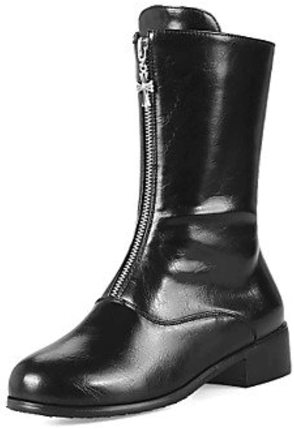 fc44270765c Women s Shoes Shoes Shoes Leatherette Fall Winter Fashion Boots Combat Boots  Boots Chunky Heel Round Toe