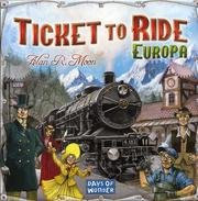 Ticket to Ride Europa.