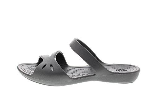 CROCS Schuhe - Pantoletten KELLI OL SANDAL - graphite Graphite