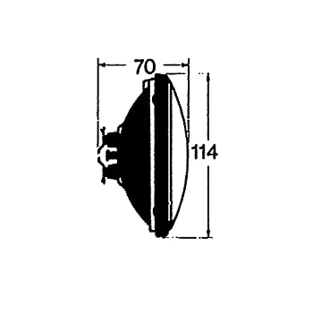Hal geno Uso 114 mm 12 V 50...