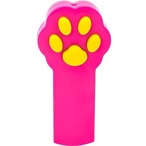 n-Stil, interaktives LED-Licht Pointer zum Trainieren von Haustieren, Rose ()