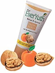 Everyuth Walnut Facial Scrub - Walnut and Apricot for smooth and healthy skin 100g by Everyuth