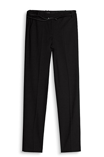 ESPRIT Collection Damen Hose Schwarz (Black 001)