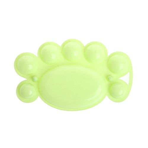Manyo Niedlich Mischpalette für Öl Aquarell, Kunststoff, 8 Mischmulden, Ideal für Kinder und Paiting Liebhaber.
