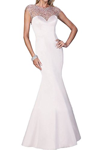 Victory Bridal - Robe - Crayon - Femme Blanc - blanc