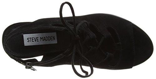 Steve Madden Nilunda Sm, Sandales Plateforme femme Noir - noir