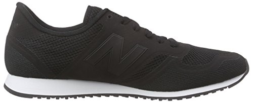 New Balance Herren U420dv1 Low-Top Schwarz (Black)