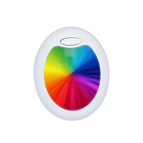BonAura Nachtlicht LED Farbwechsel Steckdose – Steckdosenlicht als Orientierungslicht und Stimmungslicht – Steckdosenlampe in Ihrer Lieblingsfarbe zum Schlafen