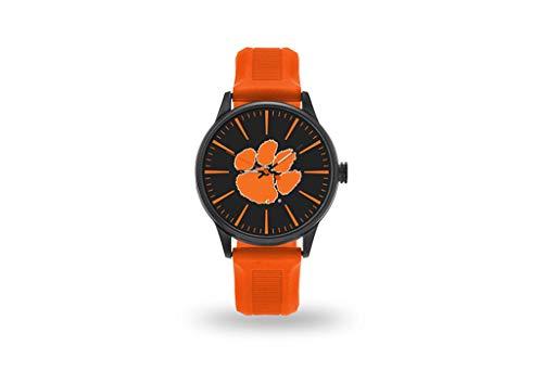 Sparo Clemson Cheer Armbanduhr mit orangefarbenem Band Clemson Band