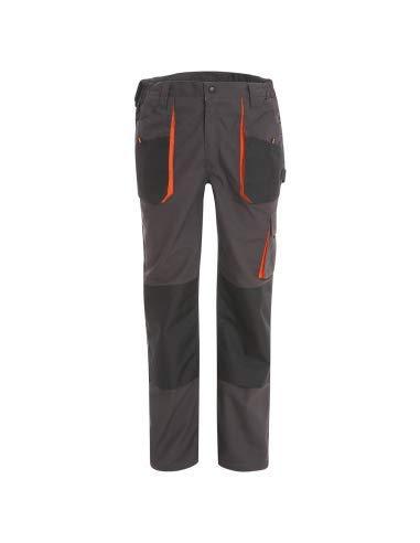 WORK AND STYLE - Pantaloni da Lavoro Labor – Linea Azione Grigio, S
