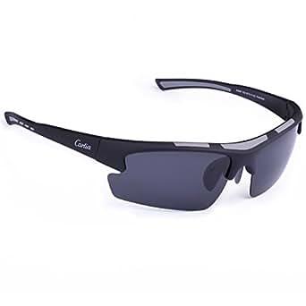 Carfia TR90 Outdoor Polarizzati sport occhiali da sole per gli uomini e le donne Esecuzione Golf Travel Unità - 100% protezione UV 400 (A) OW0RCW