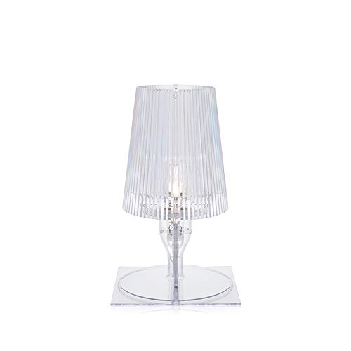 Kartell 9050B4 Lampe de chevet Take Transparent