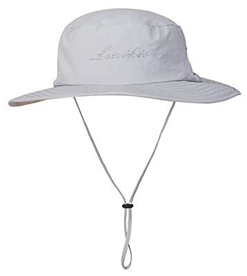 Lenikis Outdoor UV-Schutz Sonnenhut, Unisex Fisherhut, Anglerhut, Fischermütze, Strandhut mit Elastischer Kordelzug von Lenikis bei Outdoor Shop