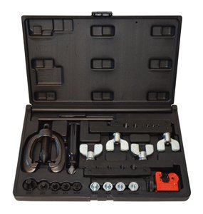 Double and Bubble Flaring Tool Kit Metric and SAE