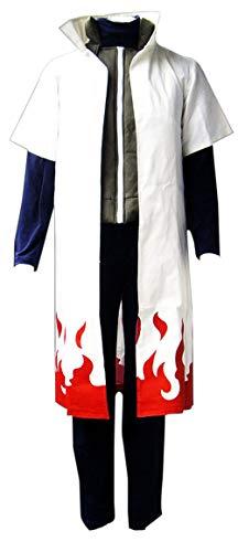 Chong Seng CHIUS Cosplay Costume Yondaime Hokage Namikaze Minato Outfit Version - Minato Hokage Kostüm