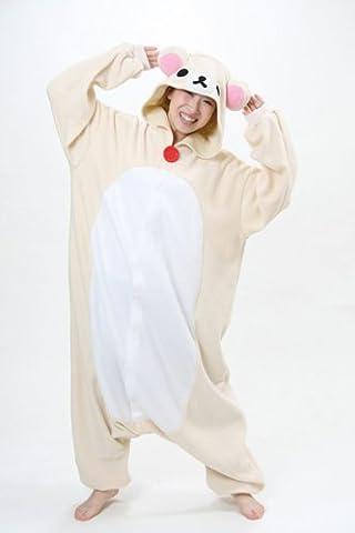 Rilakkuma Costume Pajama - Japan Sazac Original Kigurumi Pajamas Halloween Costumes