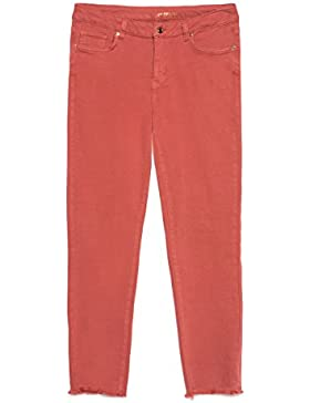 Fiorella Rubino Pantaloni skinny in cotone stretch, linea push up (Italian Plus Size)