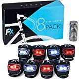 FX FFEXS Bike Lights Front and Back - Bike Lights Set of Four - Bright Bicycle Lights : everything 5 pounds (or less!)