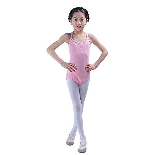 Kinder tanzen Kostüme für Mädchen Wettbewerb, Trikotanzug Ballett/Tanz/Gymnastik Tutu Rock Dancewear Kostüm ärmellose Body Overall (Tanz Kostüme Für Hip Hop Wettbewerb)