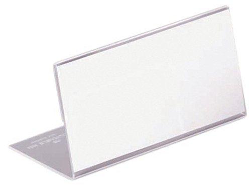 Durable 8055 Tischnamensschild 52x100mm Acryl VE=10 - Tische Seminar