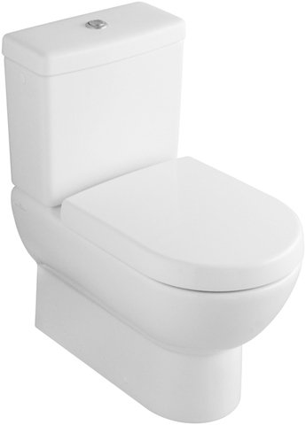 Villeroy & Boch Spülkasten (ohne WC, ohne Sitz) Subway 772311 Weiß Alpin, 77231101