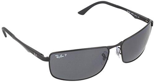ray-ban-unisex-sonnenbrille-rb3498-gr-x-large-herstellergre-61-schwarz-gestell-schwarz-matt-glser-gr
