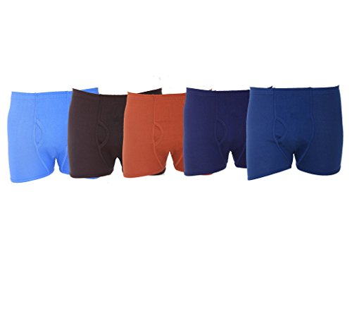 Vimal Men's Cotton Trunks (Pack Of 5) (MP05_Multi-Coloured_90)