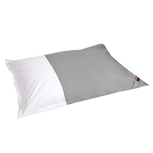 SunnyLIFE Schwimmende Bean Bag - Polyester Outdoor Pillow Grau