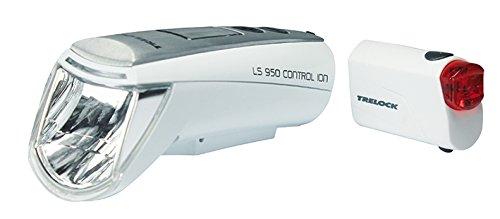 Trelock LI-ION Set LS 950Control LS720, White, 8004523