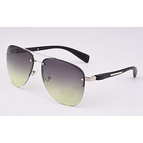 TYJYTM Weinlese-Frauen-Sonnenbrille-Retro-weibliche Sonnenbrille für Männer Gute Qualitäts-weiße Rahmen-treibende Sonnenbrille