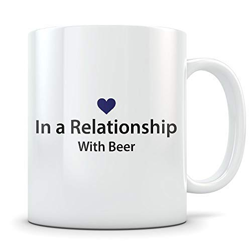 Beer Lover Gift Funny Coffee Mug for Draft Bottle or Craft Beer Drinkers Great Gag Cup for Home Brewers or Enthusiasts -
