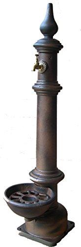 Pumpen GRILLOT Brunnen Spalte Farbe Gusseisen Ausgeblichenes, 3539866212038, braun, 122x 30x 30cm,, 62.120/FV