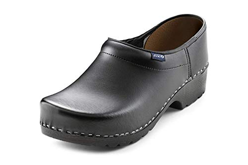 Sika Sika Footwear Traditionell Arbeits-Clogs schwarz | 36