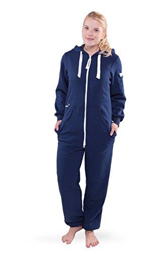 Jumpster Jumpsuit Damen SECOND GENERATION Slim Fit Pures Blau