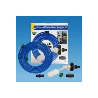 Mains Water Adaptor For A Aquaroll float system - A Universal Water Adaptor Kit Fits - Aquaroll-Aqua Caddy-Aquarius-Roly Poly & Water Hog Systems- 7.5 Meteres Of Hose Comes With All The Fittings - Free UK Shipping.