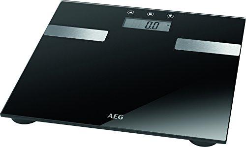 Esta báscula de baño PW 5644 FA de AEG, con una capacidad de carga máxima de 180 kg, no sólo es práctica sino también elegante. La báscula PW 5644 FA de AEG no sólo mide el peso, también analiza la grasa corporal, contenido de agua, masa muscular, pe...