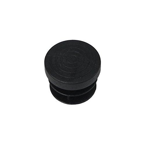 Maurer 5330652 Contera Redonda de Interior, Negro, 20 mm, Set de 4 Piezas