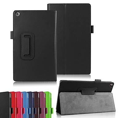 Schöne Fälle, Abdeckungen, Hülle Für Asus ZenPad S 8.0 Z580C / ZenPad 8.0 Z380M mit Halterung / Flipbare Hülle / Origami Ganzkörper-Gehäuse Solide Hart PU-Leder für ASUS ZenPad S 8.0 Z580C / ASUS Zenp