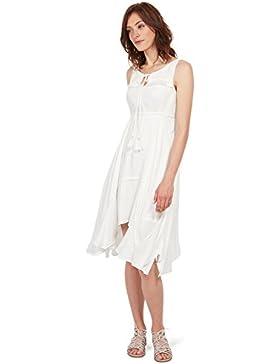 Tom Tailor für Frauen Dress Kleid mit dezentem Muster