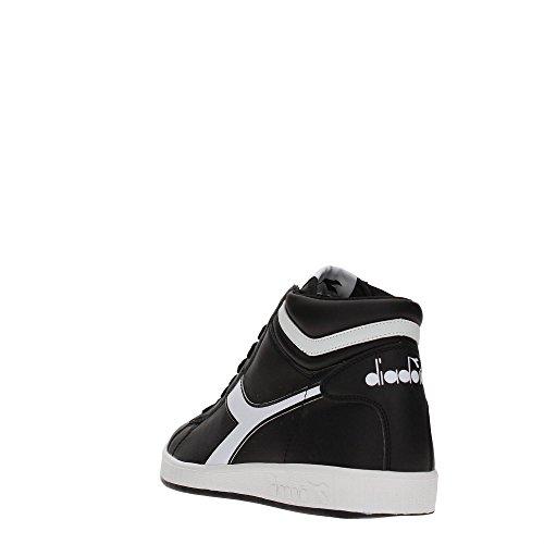 Diadora Herren Game P High Hohe Sneaker Schwarz (Nero)