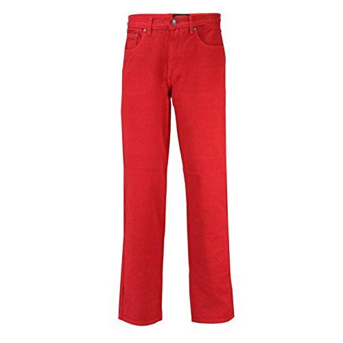 Mens Georgio Peviani Comfort Fit Jeans Classic 5 Pocket Regular Denim Trousers