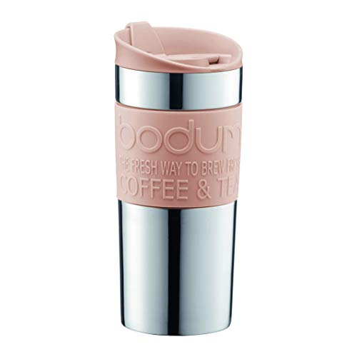BODUM - Mug de voyage isotherme en inox, double paro