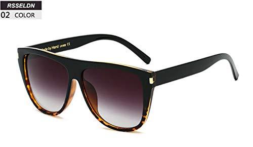 Sonnenbrillen Fashion Square Sunglasses Women Designer Luxury Oversized Sun Glasses Men Classic Vintage Shades UV400 Rivet Oculos 02