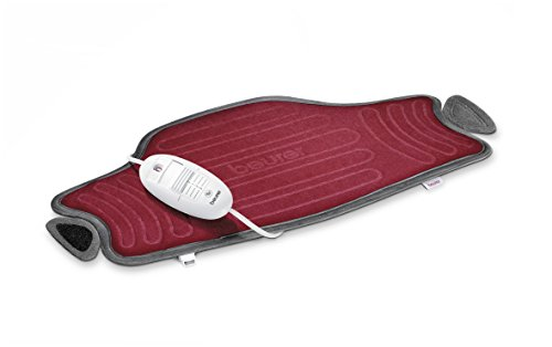 Beurer HK55 - Almohadilla electrónica cervical / lumbar con superficie suave y transpirable, cinturón...
