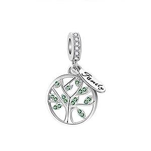 """DALARAN Bead Charms 925 Sterling Silber Schöne Charms Bead Charms Gut für Armband Halsketten, Geschenke für Frauen""""MEHRWEG"""""""