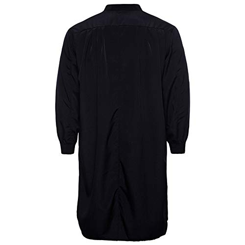LIMITA Casual T-Shirt HerrenLoose Fit Tops Lässige Slim Fito-Ausschnitt aus Baumwolle Lange Ärmel Top Bluse  Moslemisches Thobe-islamische arabische Kleidungs-langärmliges Hemdoberseite