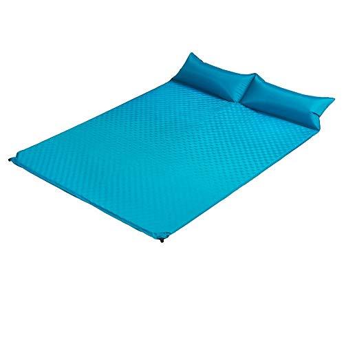 ZHIYE Outdoor automatische aufblasbare Kissen Zelt Schlafmatte Feuchtigkeits-Pad erweitert Dicke Doppel-Camping Camping (Farbe : A) (Dicke Camping-pad)